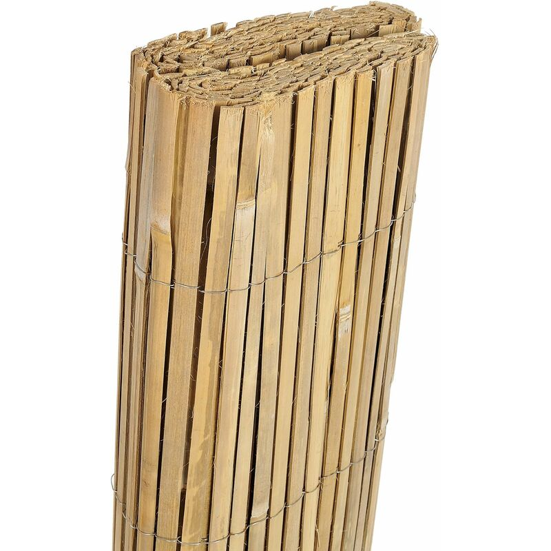 Canisse en bambou refendu 5x1m