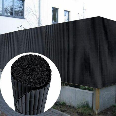 Canisse en PVC Brise Vue 80 x 400 cm, Anthracite
