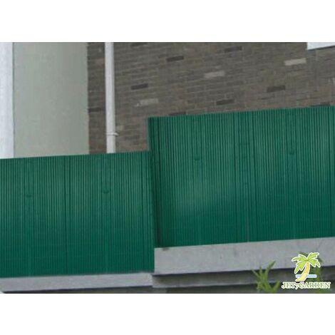 Canisse en PVC vert double face qualité + 1.80 x 2.5 m - Vert