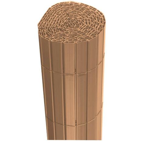 Canisse JET7GARDEN 1,2x2,5m - Madera de teca - PVC - Doble cara - Bois