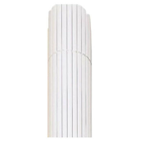 Canisse JET7GARDEN 1,8x3m - White - PVC - Double sided