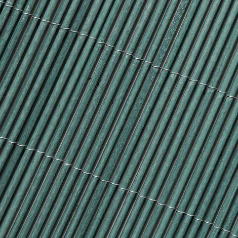 Canisse osier LOP® Catral - Vert - Longueur 3 m - Hauteur 1,5 m