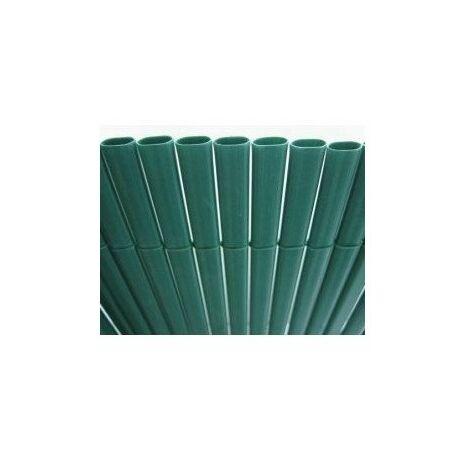 Canisse plastic 'ovale double face vert 1,50 m x 5 m