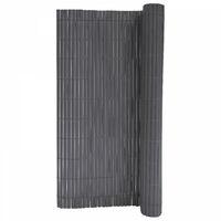 Canisse PVC gris 900 g/m²