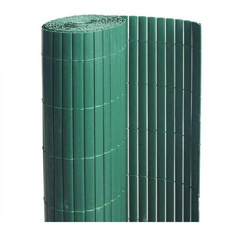 Canisse PVC - Vert - Double Face