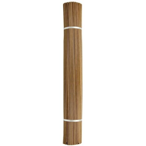 """Canisse synthétique imitation osier naturel """"Fency Wick"""" 1,50 x 3 m"""