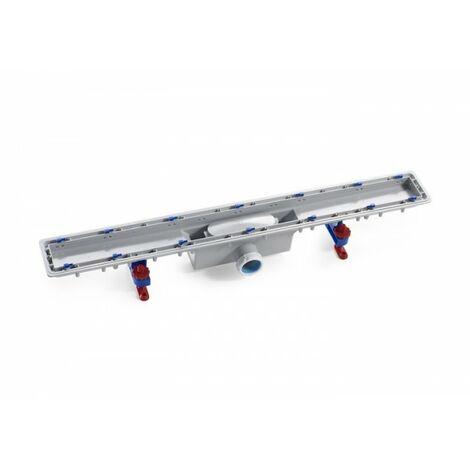 Caniveau avec tissu géotextile d'étanchéité In-Drain Channel 650X50 - ROCA A276089000