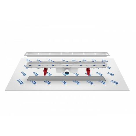 Caniveau avec tissu géotextile d'étanchéité In-Drain Channel 850X50 - ROCA A276153000