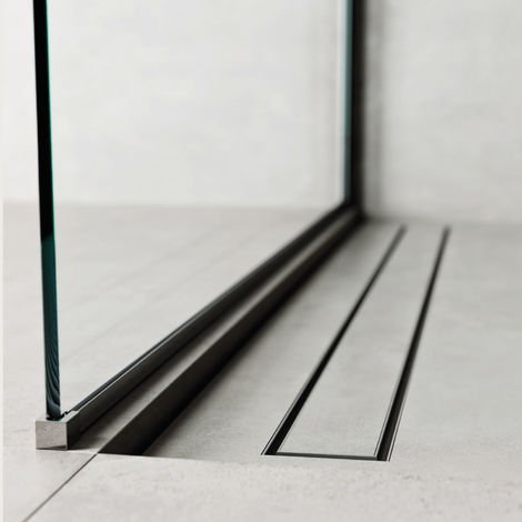 Caniveau de douche 100 x 7 cm. Profil de linéaire (code 500.200.100)