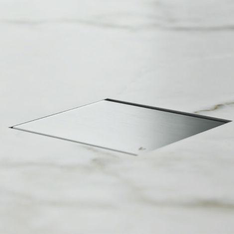 Caniveau de douche carré 15 cm. (code 500.300.015)