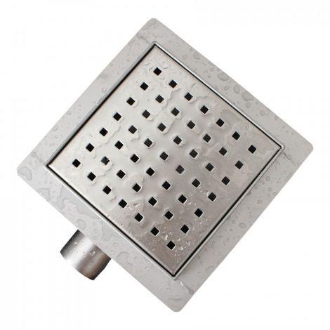 Caniveau de douche S01 en acier inoxydable pour douche - drain de douche inclus - largeur sélectionnable