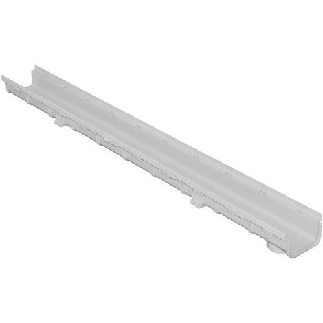 Caniveau emboîtable PVC 100x55x1000mm - Série 100 BAS