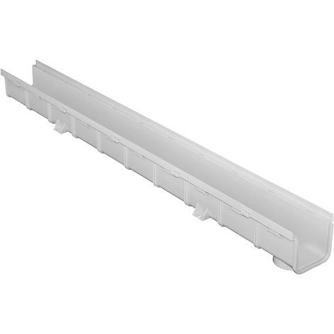 Caniveau emboîtable PVC 100x75x1000mm - Série 100 MOYEN