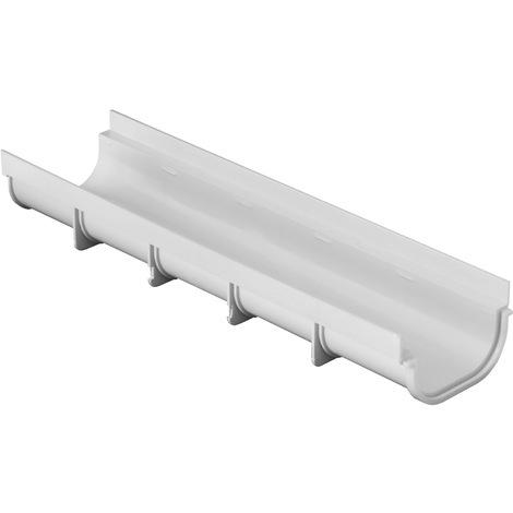 Caniveau PVC Pratiko Série 130 BAS - 130x500mm - Profondeur 75mm