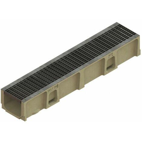 Caniveau SELF 200 - Hauteur 145mm - Largeur 150 mm  - ACO - ACO