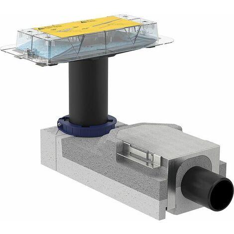 Canivelle de douche Kit gros-oeuvre Cleanline hauteur 90-220mm sortie horizontale | 90 - 220 mm