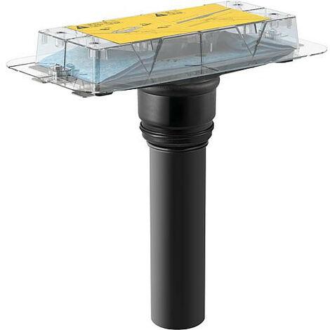 Canivelle de douche kit gros-oeuvre Cleanline hauteur à partir 20mm sortie verticale