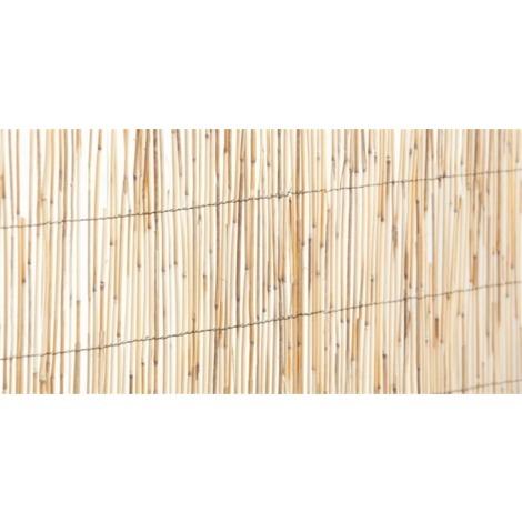 Cañizo bambú caña partida