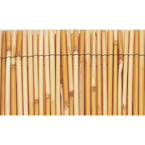 Cañizo de bambú natural pelado