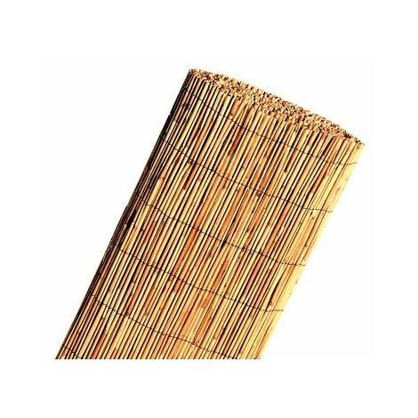 Cañizo de bambú natural pelado Medidas 2.0X5M