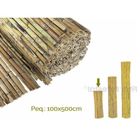 Cañizo de caña natural PARTIDA 100x500cm EXTRA