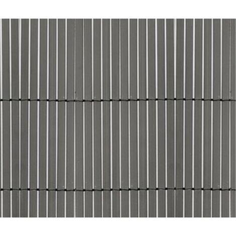 Cañizo de PVC Doble Cara 1300gr/m2 - Gris Antracita | SELECCIONE LA MEDIDA| VARIAS MEDIDAS - 1,5x5m