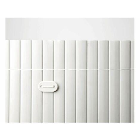 Cañizo de PVC Simple Cara 900gr/m2 - Blanco - Largo: 5 metros
