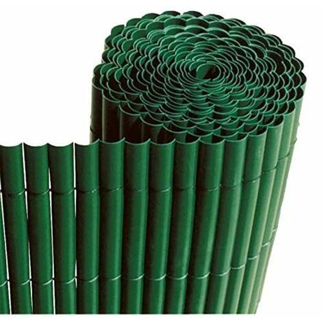 Cañizo de PVC Simple Cara 900gr/m2 - Verde Oscuro - Largo: 5 metros