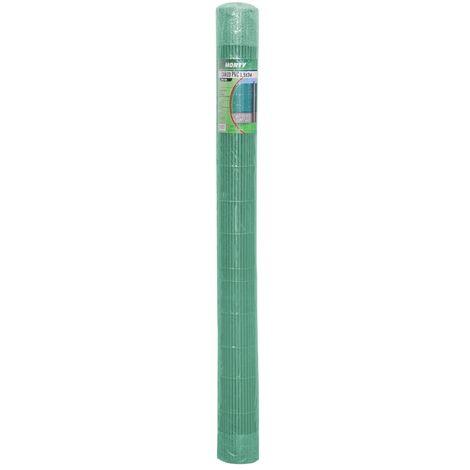 Cañizo ocultación artificial de PVC verde 150x300 cm