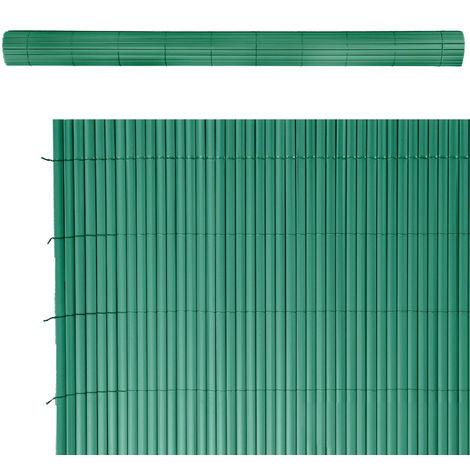 Cañizo ocultación artificial de PVC verde 200x500 cm