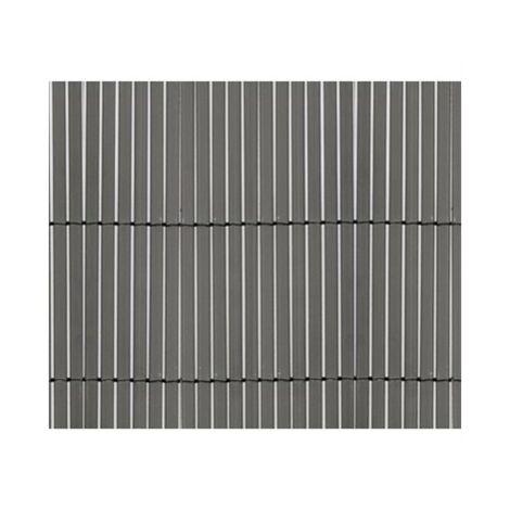 Cañizo PVC de doble Cara 1600 gr/m2 - Gris Antracita. Varias medidas - 1,5 x 3 metros -