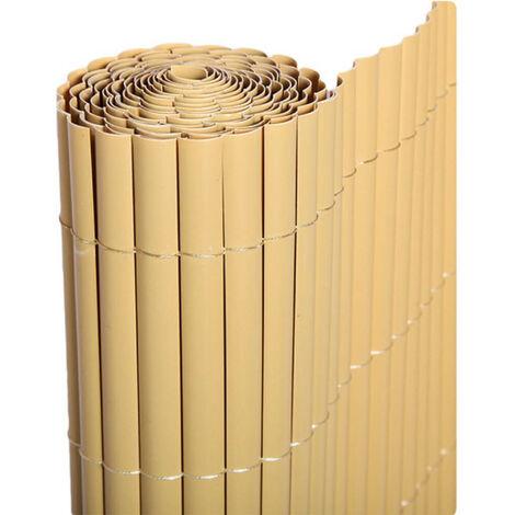 """main image of """"Cañizo PVC de media caña (Bambú). Varias medidas - 1,5x3 metros -"""""""