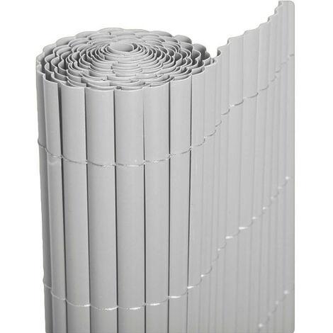 Cañizo PVC de media caña (Blanco) - 1,5x3 metros -