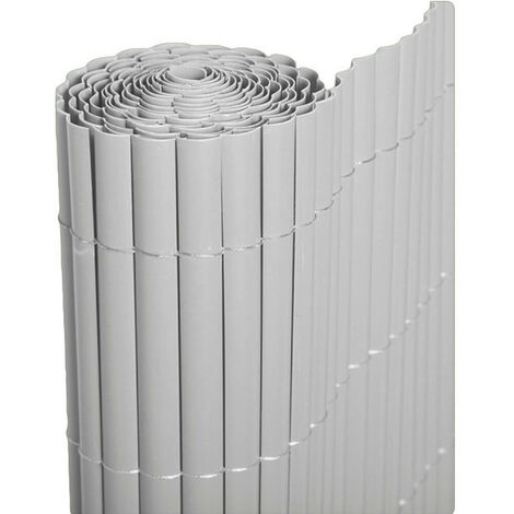 "main image of ""Mugar CAÑIZO PVC MEDIA CAÑA BLANCO 2X3 M"""