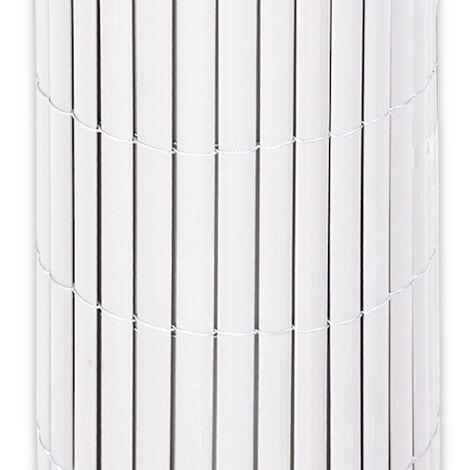 Cañizo PVC doble cara (Blanco) - Varias medida - 1x3 metros -