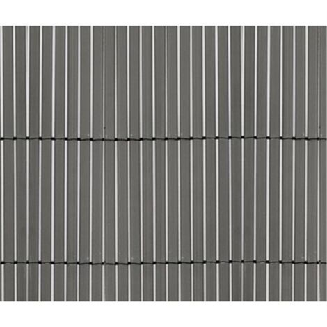 CAÑIZO PVC DOBLE CARA GRIS 1160gr/metro cuadrado