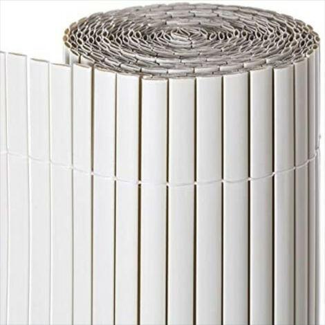 CAÑIZO PVC DOBLE CARA GRIS OSCURO 1X3M