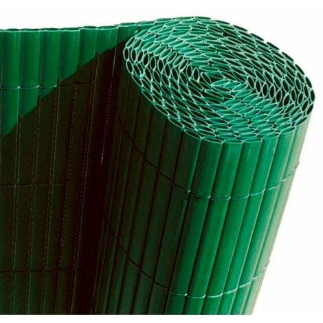 "main image of ""Cañizo PVC doble cara verde 12mm"""