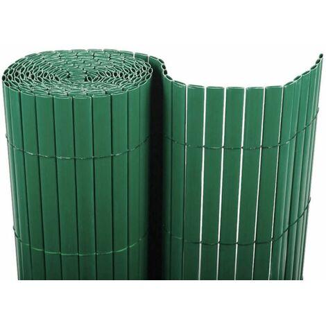 Cañizo PVC doble cara (verde). Varias medidas - 1,5x3 metros -