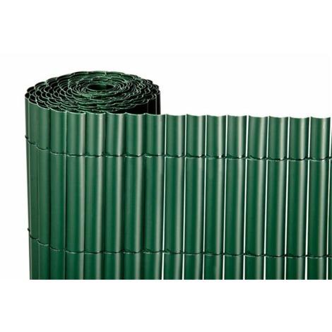 CAÑIZO PVC S/C VERDE 900gr/5 METROS LINEALES