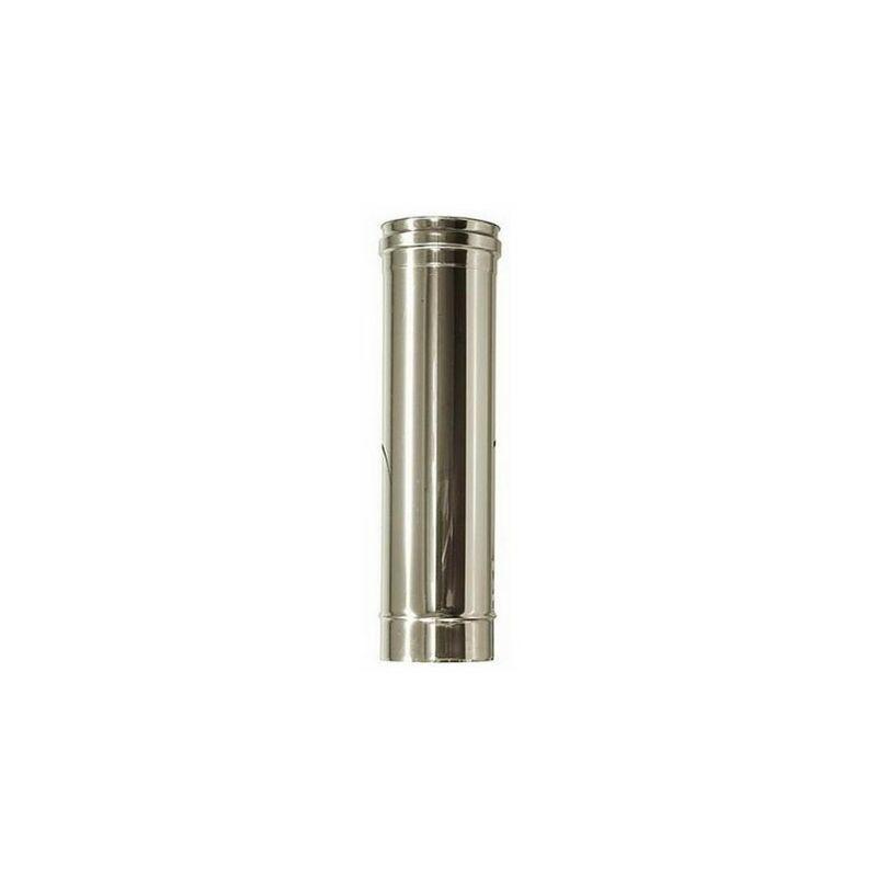 spessore 1 mm diametro 45 mm lunghezza 1000 mm Set 3 Tubi in acciaio inox Aisi 304
