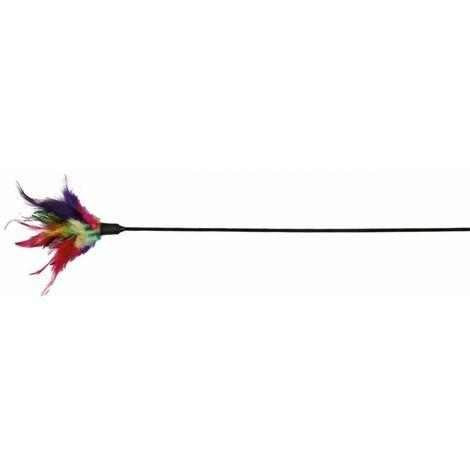 Canne à pêche avec plume, 50 cm - 4106