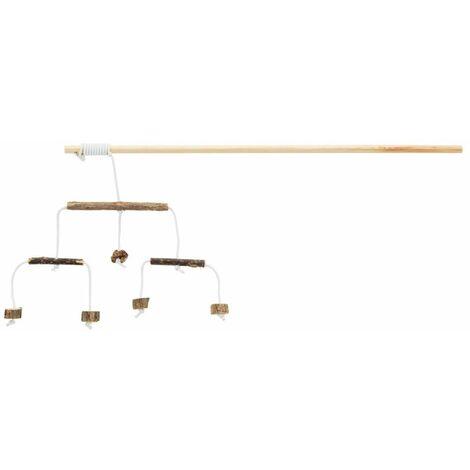 Canne à pêche avec sticks en matatabi - 50 cm