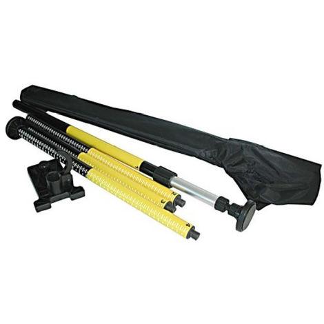 Canne trépied télescopique FLEX pour laser - 920108