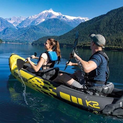Canoë Kayak gonflable Intex 68307 Explorer K2