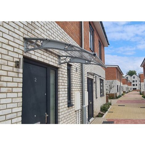 CANOFIX Door Canopy PC 2500W x 1270P - different colours