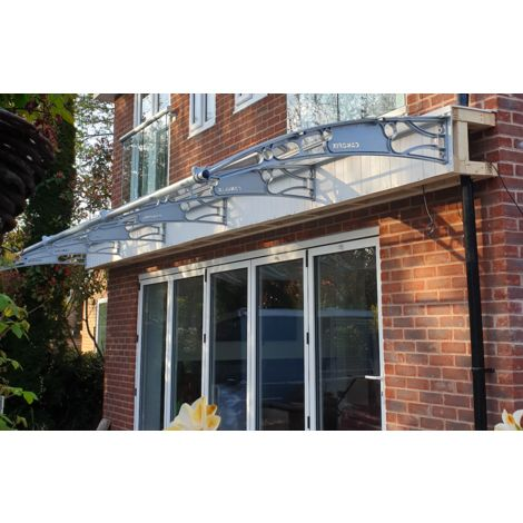 CANOFIX Door Canopy PC 6000W x 1500P - different colours