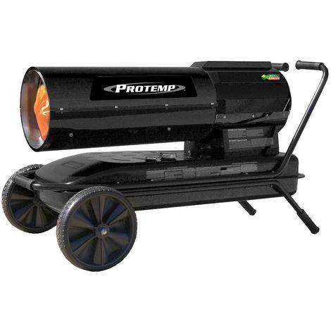 Canon à chaleur au fioul à combustion directe DUAL FUSION 945-1223 m³ 50-65 kW Protemp PT220DFV