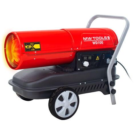 Canon à chaleur fioul 30 kW MW-Tools WD100