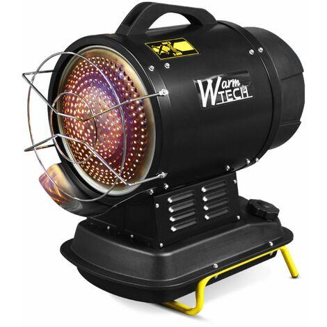 Canon à chaleur infrarouge diesel 20Kw - Warmtech